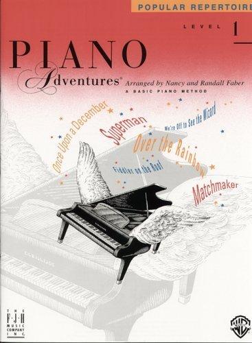 Piano Adventures Popular Repertoire, Primer Level by Nancy & Randall Faber (Popular Repertoire Primer)