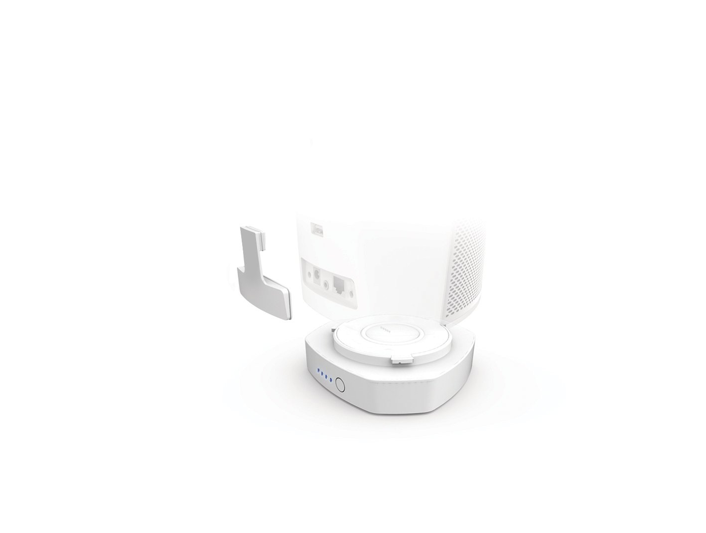 Denon HEOS1GOPACKHS2WT GO Pack Wireless Audio System Adapter New Version White by Denon (Image #4)