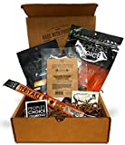 People's Choice Beef Jerky - Jerky Box - Sweet Tooth - Meat Snack Sampler Gift Basket for Guys - 4 Items