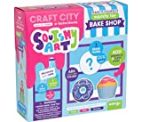 Craft City Karina Garcia DIY Squishy Art: Bake Shop | Make Your Very Own Cupcake and Donut Squishy Toys | Mystery Shape Included | Creates 3 Squishy Toys