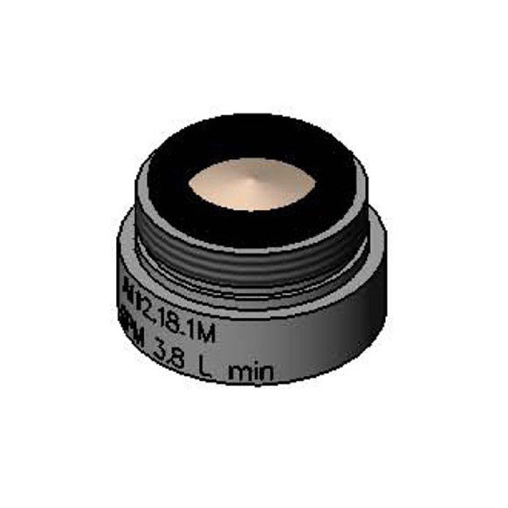 T&S Brass B-0199-08-LF10 VR Laminar Flow Outlet, 13/16-27UN Male, 1.0 GPM