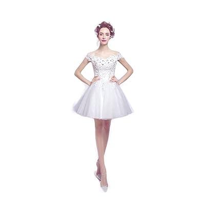 45629ed12c1b1 ミニウェディングドレス ミニドレス演奏会 発表会 パーティードレス 二次会 披露宴 成人式 ワンピース ショート フォーマルドレス ブライズドレス 白い ドレス