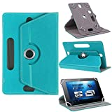 TABLET FLIP Case / Cover for HCL ME Connect 2G 3.0 V3 Tab ., SMM 360 Rotate flip cover with stand - ( Green )
