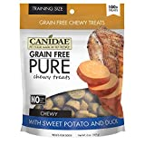 Canidae Grain Free Pure Chewy Dog Treats With Sweet Potato & Duck, 6...