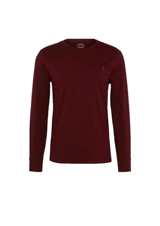 bfe4040ad9b8 Polo Ralph Lauren Men s Plain Long Sleeve Polo Shirt  Amazon.co.uk  Clothing