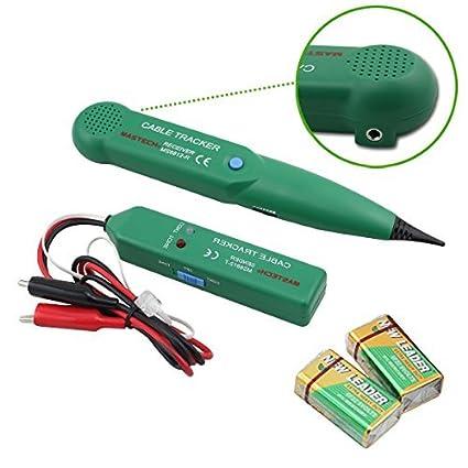 VINGO® Réseau de traqueur de câble d'appareil de contrôle de ligne de câble de trouveur de câble de réseau de