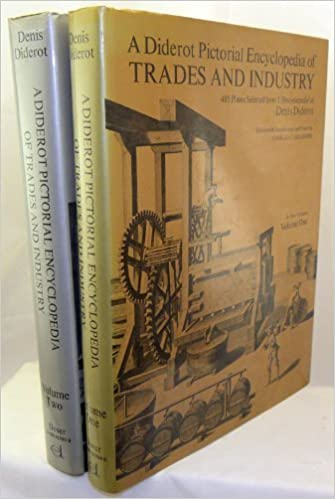 diderot pictorial encyclopedia of trades and industry volume two