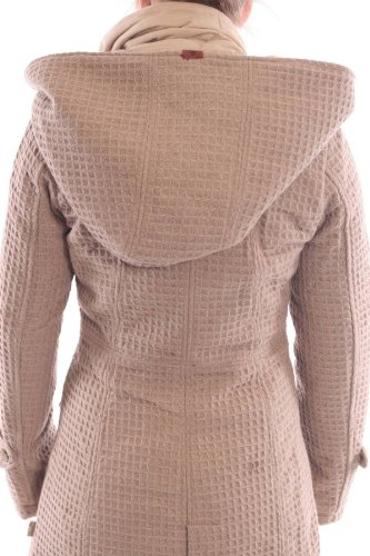 Wollmantel damen beige