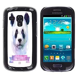 Jordan Colourful Shop - FOR Samsung Galaxy S3 MINI 8190 - Nurture passes nature - Personalizado negro cubierta de la caja de pl??stico