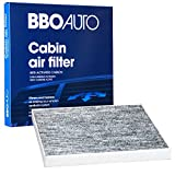 BBO AUTO BCF10374 Premium Cabin Air Filter with Active Carbon Media - Fits Toyota Tacoma | Pontiac Vibe (CF10374 REPLACEMENT)