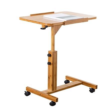 mesa plegable KKY-Enter portátil con Ruedas móvil Computadora ...