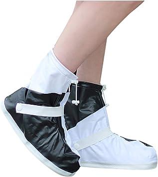 HCCX Zapatos Protectores De Zapatos Anti-Virus De La Cubierta-Mujeres Anti-Epidemia De La Cremallera Cubreobjetos-Conveniente para El Recorrido: Amazon.es: Deportes y aire libre