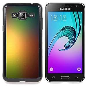 """Qstar Arte & diseño plástico duro Fundas Cover Cubre Hard Case Cover para Samsung Galaxy J3(2016) J320F J320P J320M J320Y (Rainbow Espacio Galaxy"""")"""