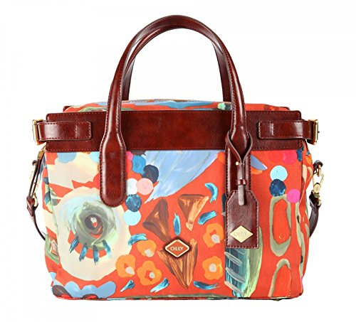 Oilily Painterly M Carry All Cinnamon