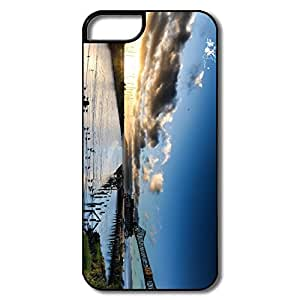 IPhone 5S Cases, Portland White/black Cases For IPhone 5 5S
