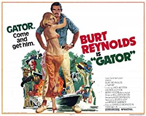 Gator POSTER Movie (1976) Style A 11 x 14 Inches - 28cm x 36cm (Sonny Shroyer)(Mike Douglas)(Burt Reynolds)(Jerry Reed)(Lauren Hutton)(Jack Weston)(Alice Ghostley)