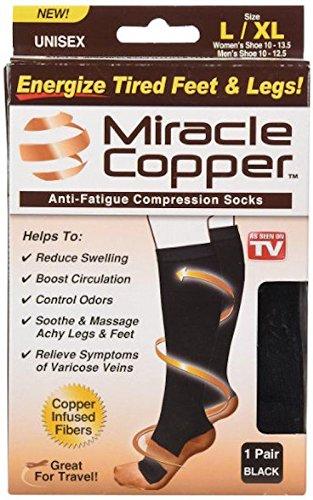 Miracle Copper Anti Fatigue Compression Socks
