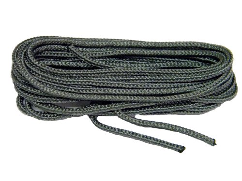 60 Inch 152 cm Storm Grey Nylon Speedlace for Tactical Boot Laces Shoelaces - 2 pair pack