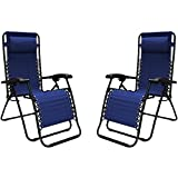 #4: Caravan Sports Infinity Zero Gravity Chair, Blue