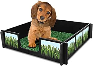 Potty Rink (Dog Potty Training System) Provides An Easy - Indoor Puppy Potty Training Station – For House Training A Puppy or Dog, in Apartments or Homes. Small to Medium Sized Dogs (Small/Medium)