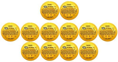ONE 576 Sensations Studded Lubricated Latex Condoms Bulk - 100 Latex Condoms