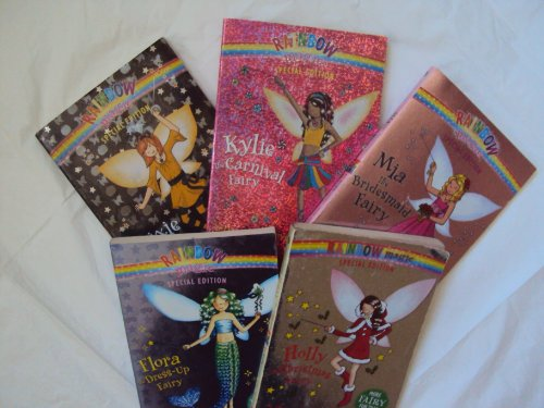 Rainbow Magic: Rainbow Fairies Special Edition Collection (5) : Flora, Mia, Kylie, Trixie the Halloween Fairy, Holly (Book Sets for Girls : Grade 2 - 3) -