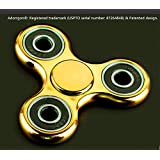Adorrgon Fidget Spinner Toy Time Killer Stainless Steel Bearing Perfect to relieve ADHD Anxiety Reduce Stress...