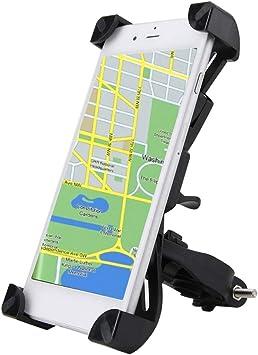 Soporte Móvil Bicicleta, Soporte Movil Bicicleta Ajustable 360°, Anti Vibración Bike Holder para Smartphone, Bike Mount Smartphone para Moto o Bici: Amazon.es: Bricolaje y herramientas