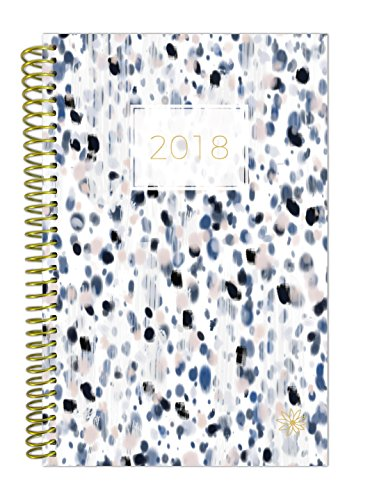 """bloom daily planners 2018 Calendar Year Daily Planner - Passion/Goal Organizer - Monthly and Weekly Datebook and Calendar - January 2018 - December 2018 - 6"""" x 8.25"""" - Dots"""