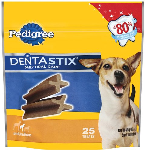 Pedigree Dentastix Oral Care Treats for Dogs, Small/Medium, 14.1-Ounce, My Pet Supplies