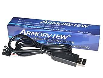 Armorview PL2303HX USB To TTL To UART COM Cable Module Converter
