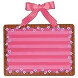 Metal Memo Board, Pink Rectangle, by Stephen Joseph