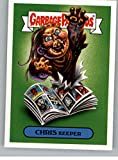2018 Topps Garbage Pail Kids Oh The Horror-ible 80s Horror Stickers B #14B CHRIS KEEPER Peelable Collectible Trading Sticker Card