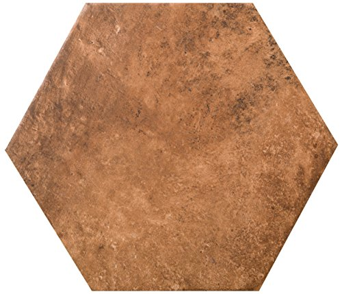 Cotto Tile Flooring (EMSER F43NEWBCO1011HX Newberry Cotto 10 X 11 Hex)