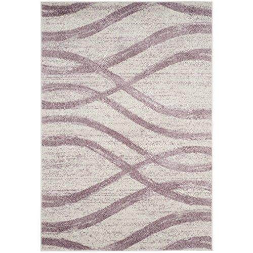 Safavieh Adirondack Collection ADR125L Cream and Purple Area Rug, 8' x 10' (Purple Area Rugs 8x10)