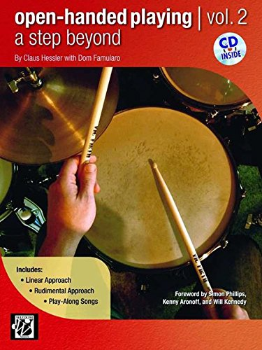 Read Online Open-Handed Playing, Vol 2: A Step Beyond, Book & CD pdf epub