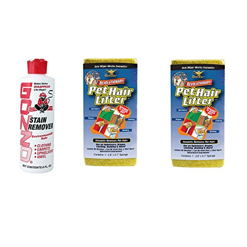 Gonzo Pet Hair and Stain Removal Kit