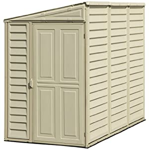 DuraMax Model 00611 4x8 SideMate Vinyl Storage Shed