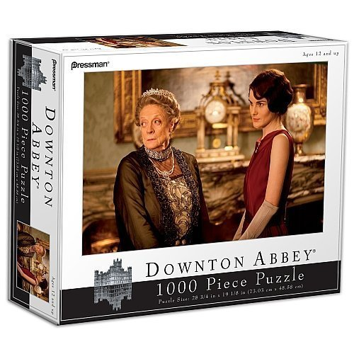 Downton Abbey 1000 Piece Puzzle  The Dowager Lady Mary