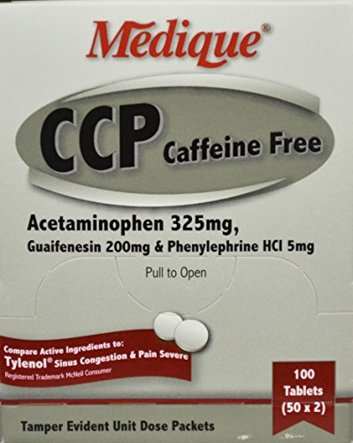 -Free Cold Relief Tablets - Box of 100 (5 Mg Tablets Box)