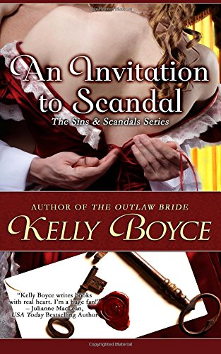 book cover of An Invitation to Scandal