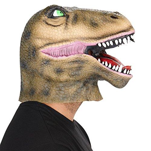 [Dinosaur Adult Mask] (Raptor Costume Jurassic Park)