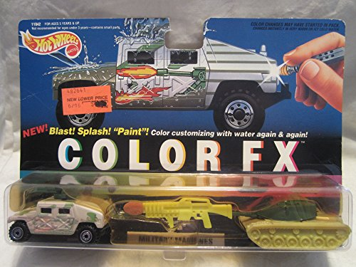 1994 Color FX Military Machines: Hummer & Big Bertha ()