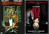 Terror on the Plane Movie Collection!! Red Eye & Turbulence 2-DVD Bundle