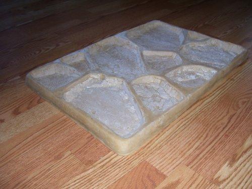 1.Field Stone Concrete Veneer Rubber Molds..PLUS 1 FREE FIELD STONE PLASTIC MOLD - Stone Veneer Molds