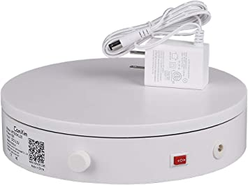Comxim 360 Degree Photography Turntable For Product Photography 44Lb Capacity,