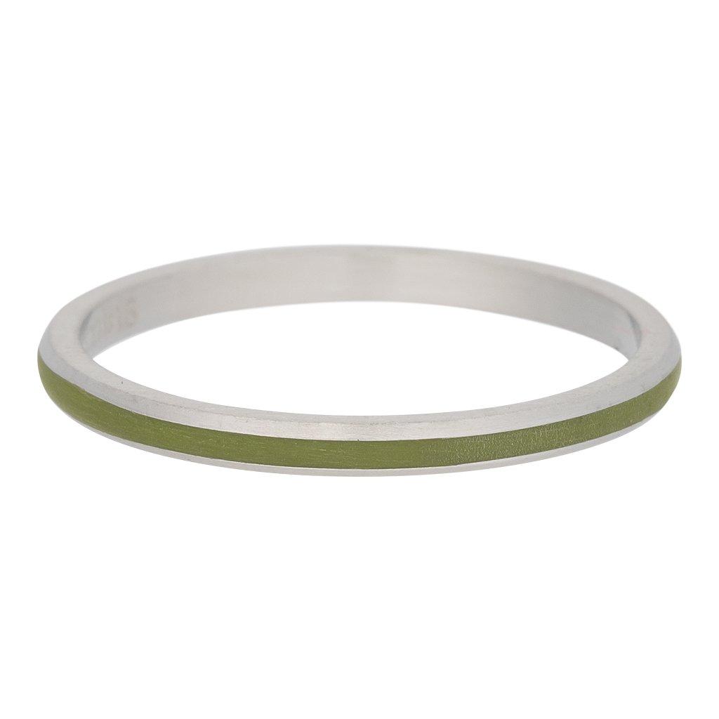 2 mm iXXXi F/üllring LINE PINK silber