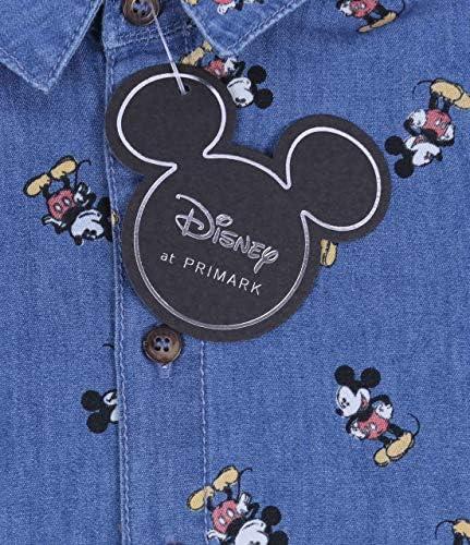 Camisa + Pantalones Cortos Rojos Mickey Mouse Disney ...