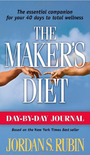 Day By Day Journal For Makers Diet: The essential companion for your 40 days to total wellness Jordan Rubin