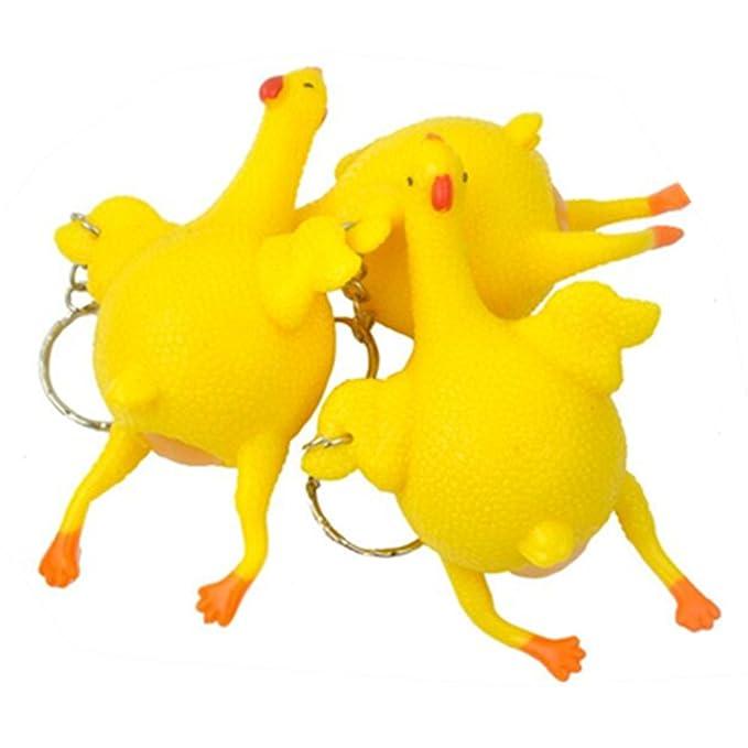 Amazon.com: aomeiter 1P Squeeze pollo ponedoras huevo ...